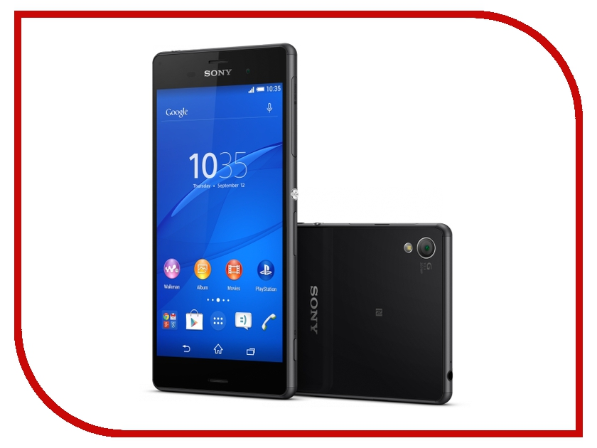 Сотовый телефон Sony D6603 Xperia Z3 Black<br>