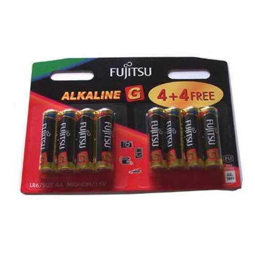 Батарейка AA - Fujitsu LR6G/8B Alkaline G (8 штук)