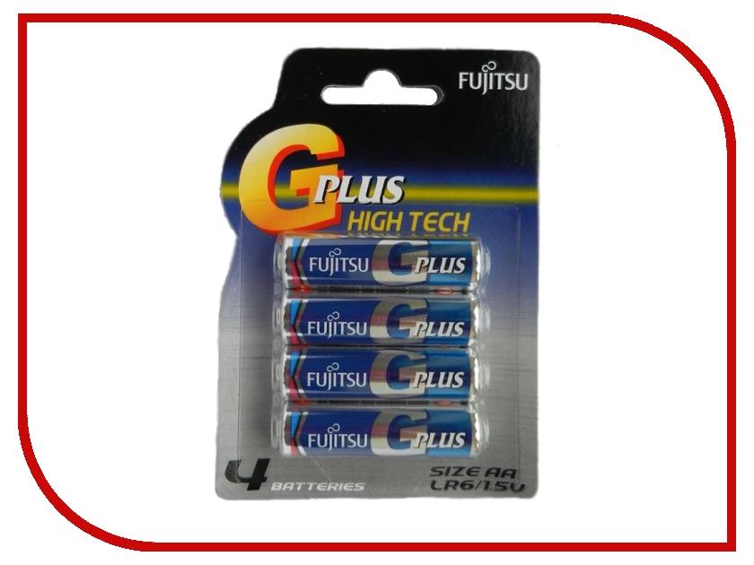 Батарейка AA - Fujitsu LR6GPLUS/4B Alkaline G Plus (4 штуки)<br>