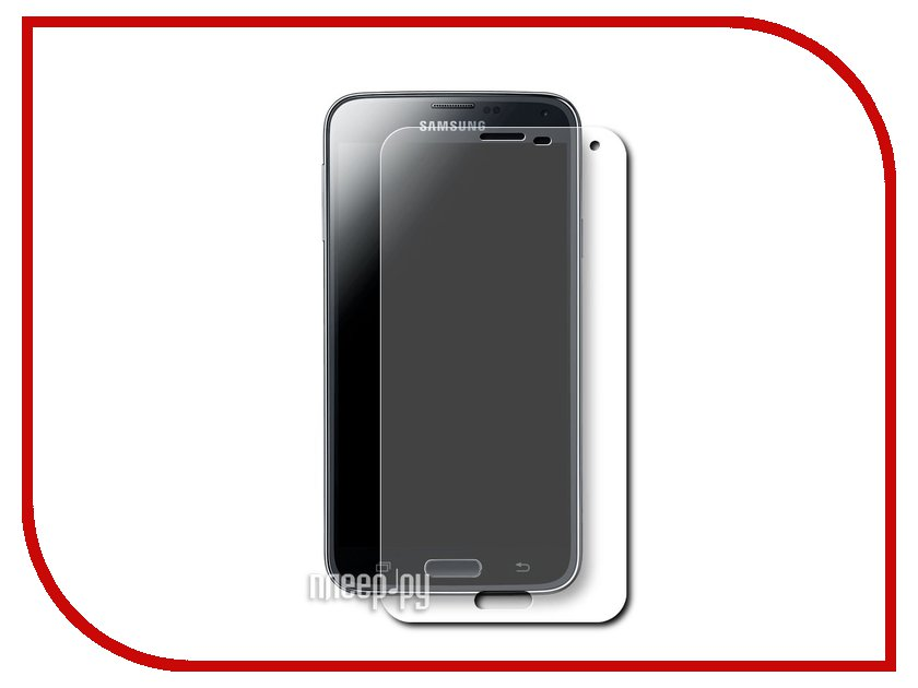 Аксессуар Стекло закаленное Samsung Galaxy S5 DF sSteel-03<br>