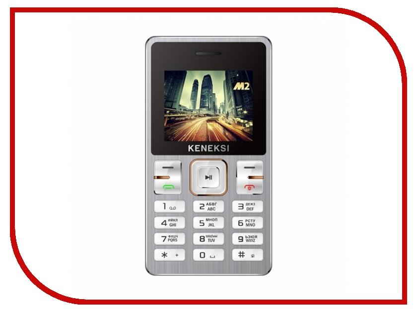 Сотовый телефон KENEKSI M2 Silver<br>