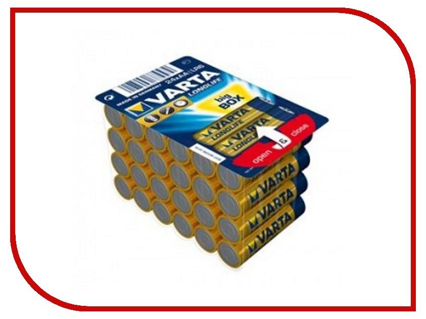 Батарейка AA - Varta LongLife (24 штуки) Big Box 04106301124<br>