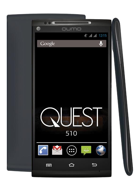 Сотовый телефон Qumo Quest 510 Black<br>