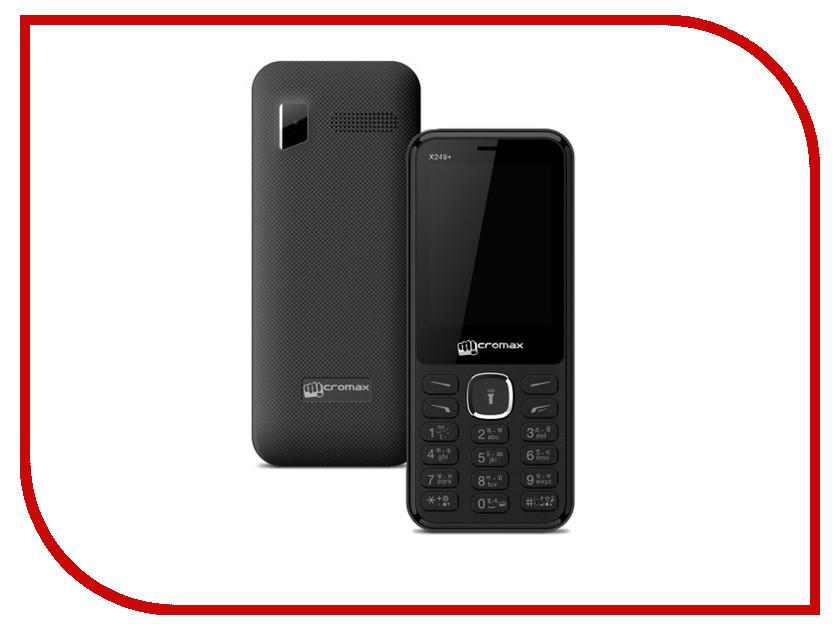 Сотовый телефон Micromax X249+ Black