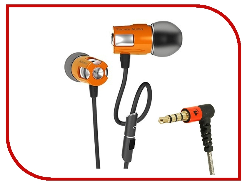 Гарнитура Fischer Audio Consonance v2 Orange гарнитура alpha audio hp five