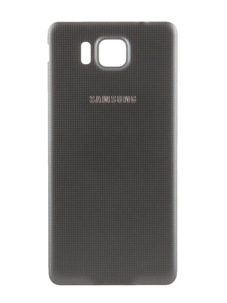 Аксессуар Крышка задняя Samsung SM-G850 Galaxy Alpha BackCover EF-OG850SBEGRU Black