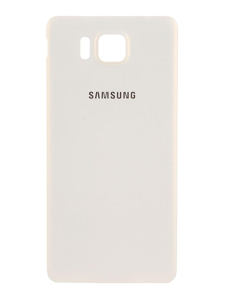 Аксессуар Крышка задняя Samsung SM-G850 Galaxy Alpha BackCover EF-OG850SWEGRU White