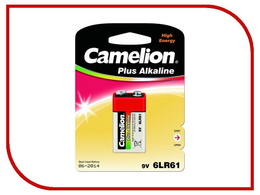 Батарейка КРОНА - Camelion Plus Alkaline 6LF22 6LR61-BP1 (1 штука)<br>