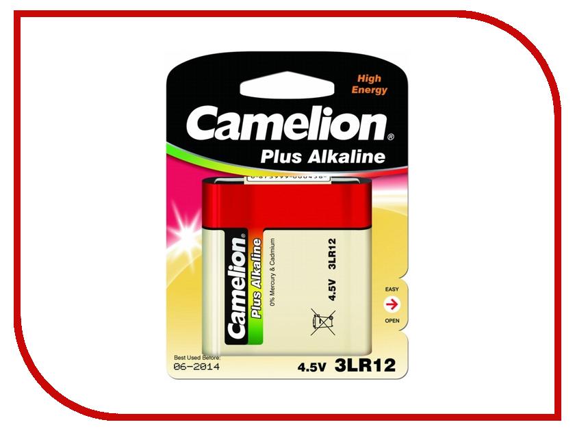 Батарейка Camelion Plus Alkaline 3LR12 3LR12-BP1 (1 штука)<br>