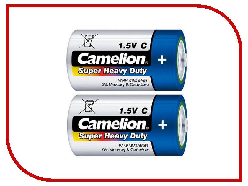 Батарейка C - Camelion R14 Blue R14P-BP2B (2 штуки) батарейка c camelion green r14 r14p bp2g 2 штуки