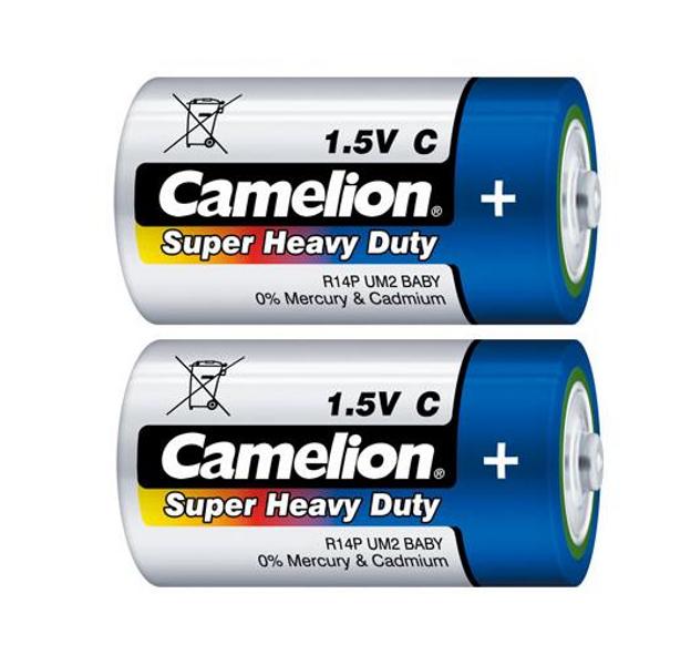 Батарейка C - Camelion R14 Blue R14P-BP2B (2 штуки)