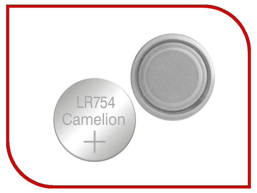 Батарейка Camelion LR754 G5 BL-10 AG5-BP10 (1 штука) cr1220 camelion cr1220 bp1 1 штука