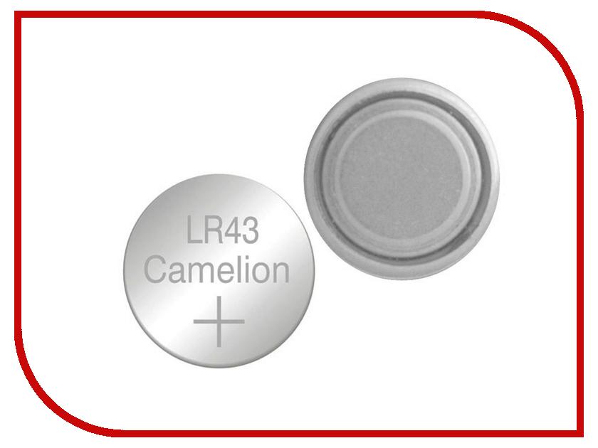 Батарейка Camelion LR43 G12 BL-10 AG12-BP10 (1 штука) bp10