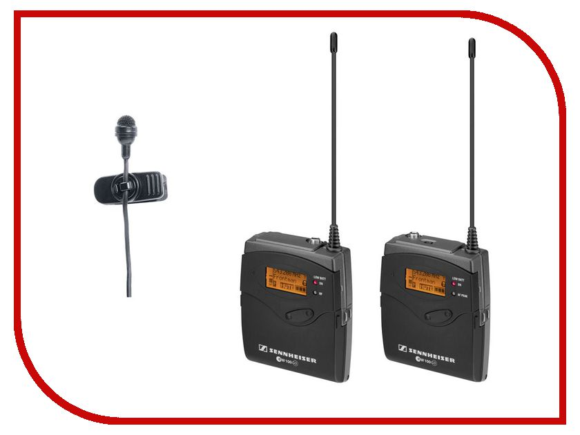 Радиосистема Sennheiser EW 122P G3-B-X sennheiser sennheiser ew 145 g3 b x