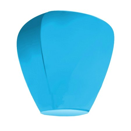 Небесный фонарик Эврика Фонарь желаний Blue 91832 небесный фонарик желаний nebofon сердце 2d pink