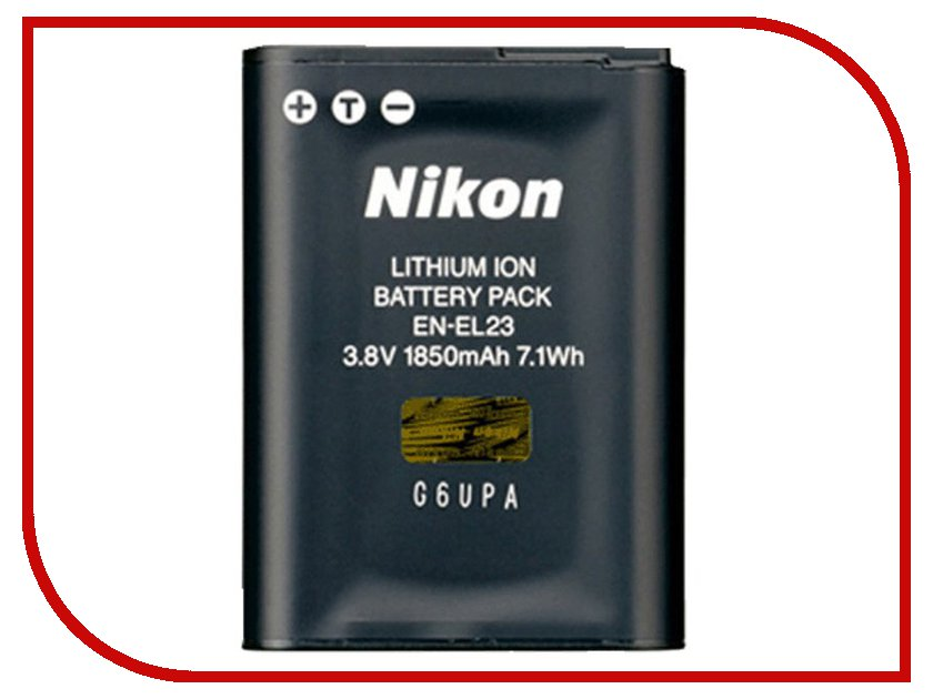 Аккумулятор Nikon EN-EL23<br>