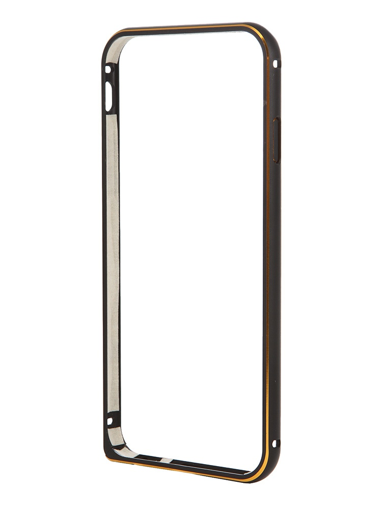 Аксессуар Чехол-бампер Ainy for iPhone 6 Black QC-A001A