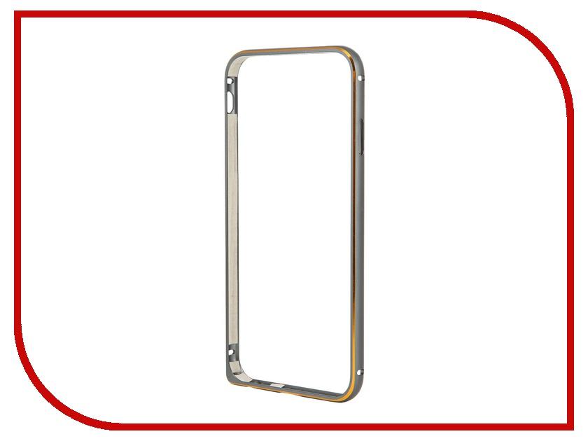 все цены на Аксессуар Чехол-бампер Ainy для iPhone 6 Grey QC-A001K онлайн