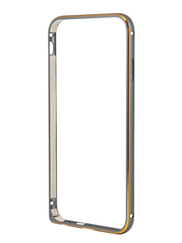 Аксессуар Чехол-бампер Ainy for iPhone 6 Grey QC-A001K