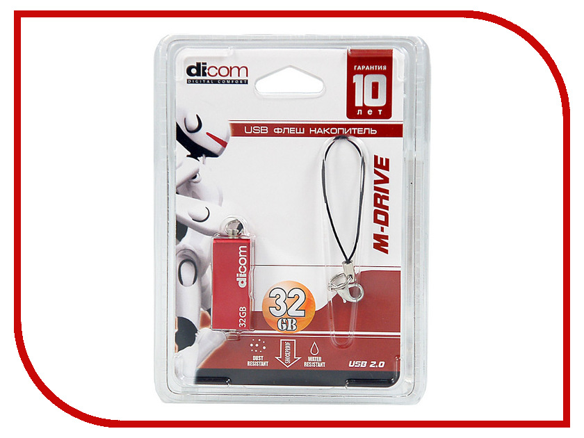 USB Flash Drive 32Gb - Dicom M-Drave M21<br>