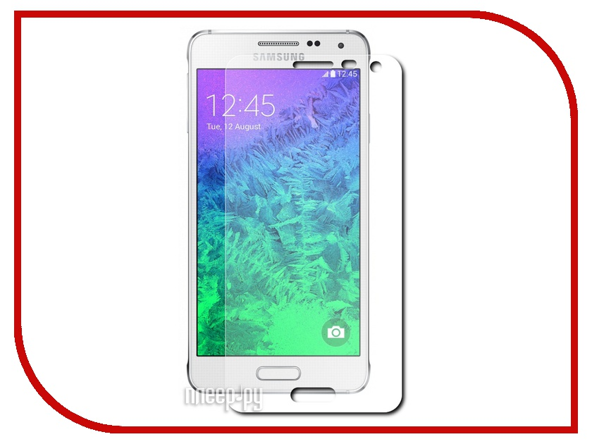 Аксессуар Стекло противоударное Samsung SM-G850F Galaxy Alpha Ainy 0.33mm<br>