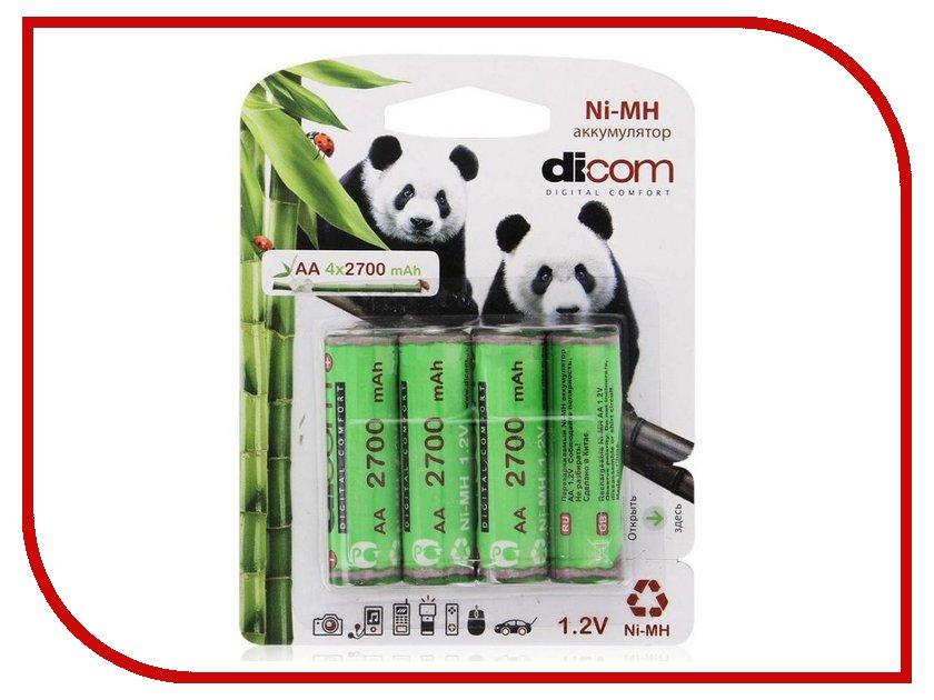 ����������� AA - Dicom Panda 2700 mAh Ni-MH AA2700mAh (4 �����)