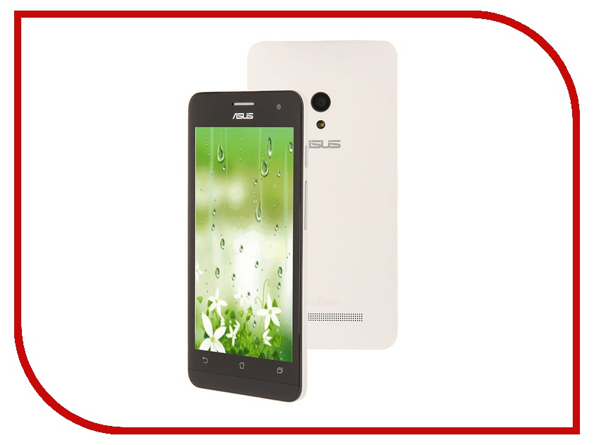 Сотовый телефон ASUS ZenFone 5 A500KL 16Gb LTE White<br>