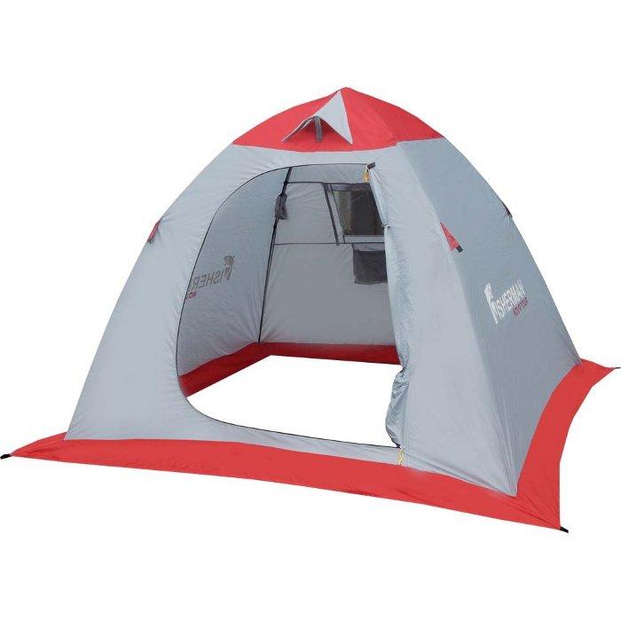 Палатка Nova Tour Нерпа 2 V2 Grey-Red 95326-050-00 от Pleer