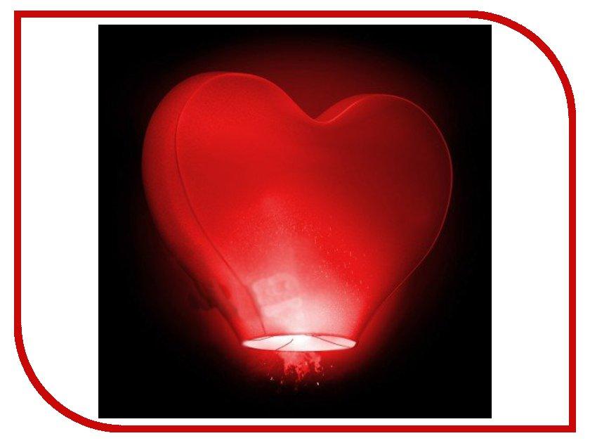 Небесный фонарик Эврика Фонарь желаний Сердце 00230