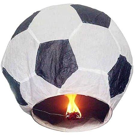 Небесный фонарик Эврика Фонарь желаний Футбольный мяч Black-White 93225<br>