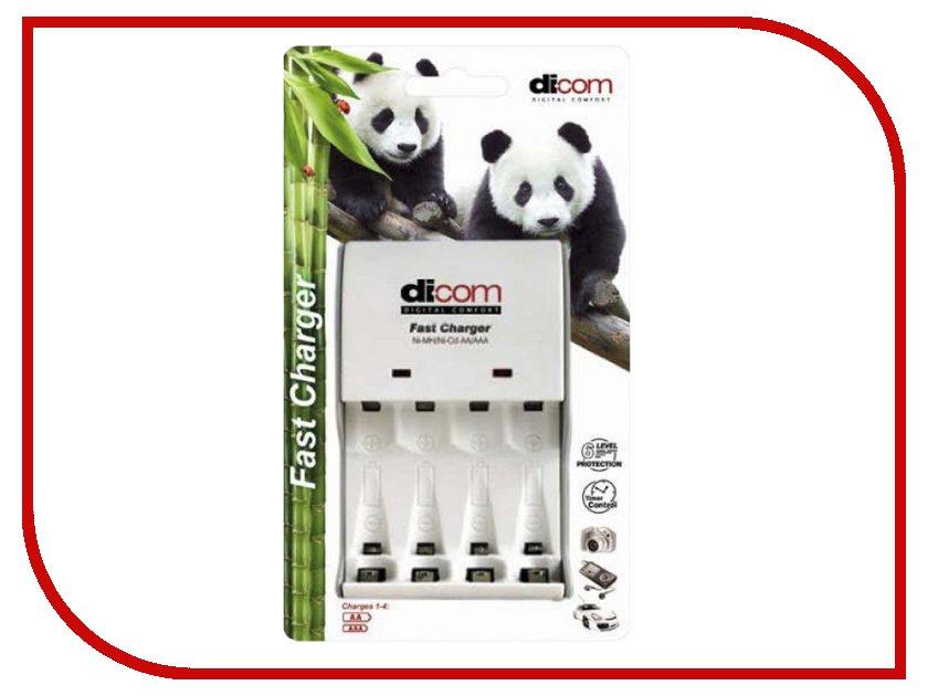 Зарядное устройство Dicom Panda DC40 dicom um 2991 grey slr