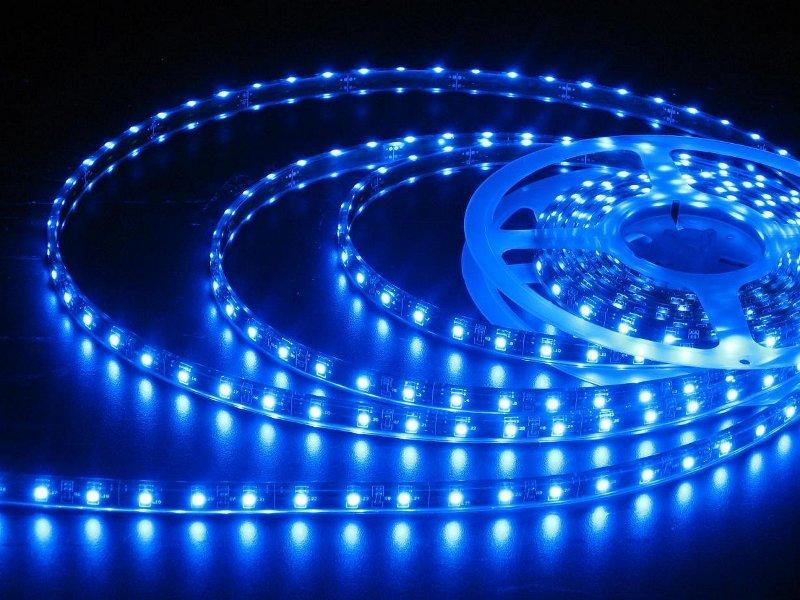 Светодиодная лента LUNA LS 3528 60led/m 12V 24W 5m IP20 B Blue 60005