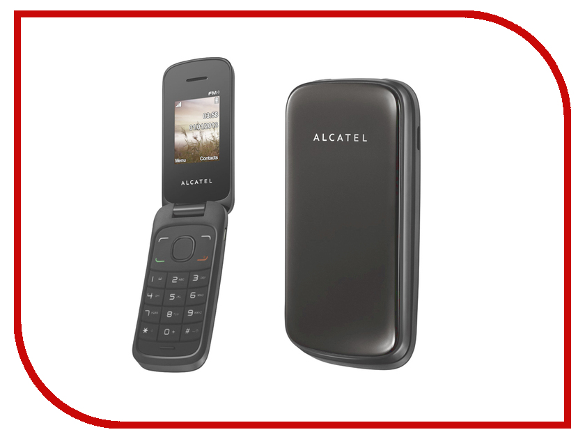 купить  Сотовый телефон Alcatel OneTouch 1035D Dark Grey  онлайн