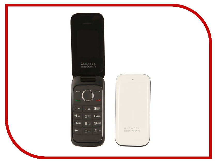 Сотовый телефон Alcatel OneTouch 1035D Pure White