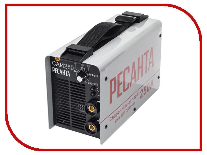 Сварочный аппарат Ресанта САИ 250 сварочный аппарат интерскол иса 250 10 6