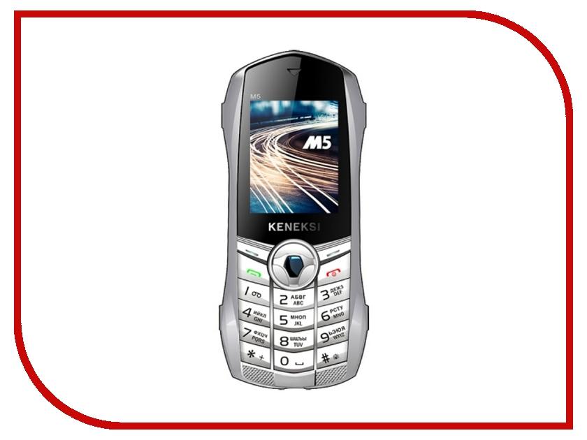 Сотовый телефон KENEKSI M5 White<br>
