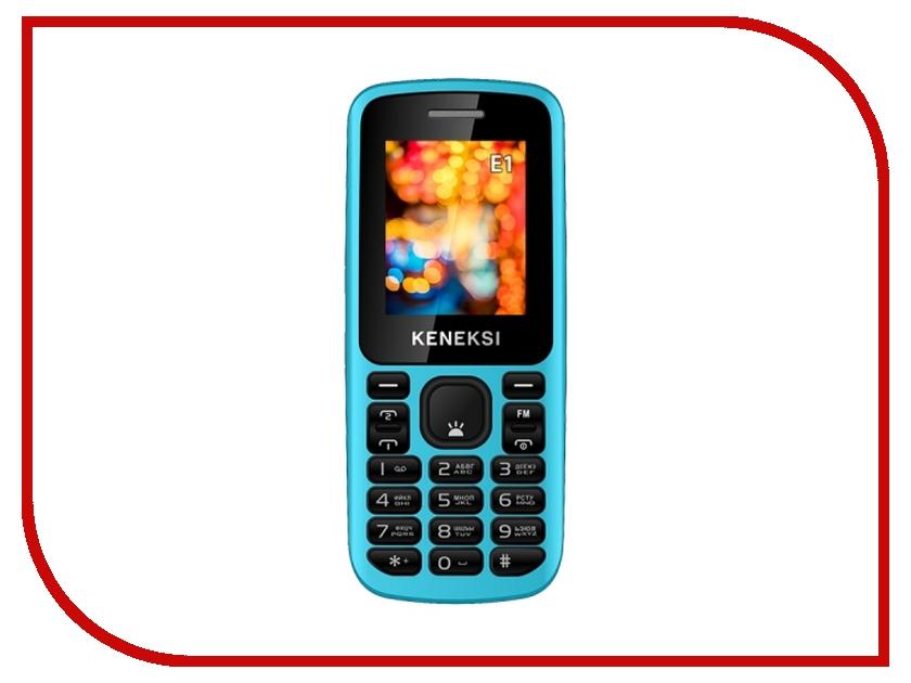 Сотовый телефон KENEKSI E1 Blue<br>