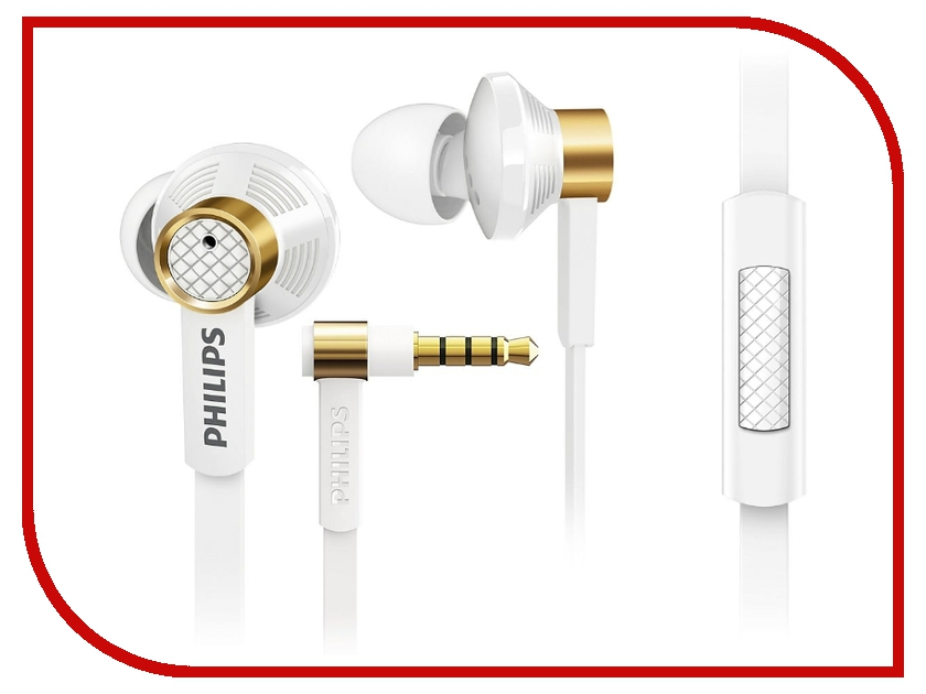 Гарнитура Philips TX2 White<br>