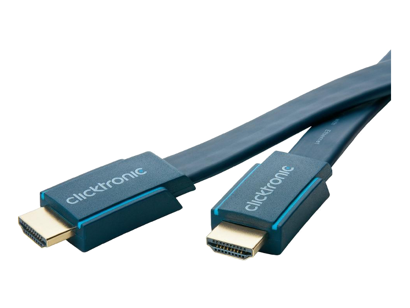 Аксессуар ClickTronic HDMI Ethernet Casual HD/4K/3D-TV 1m 70312