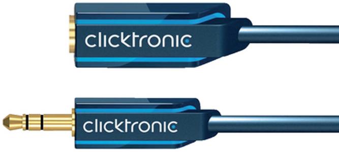 Аксессуар Clicktronic Jack 3.5 Casual 1.5m 70486