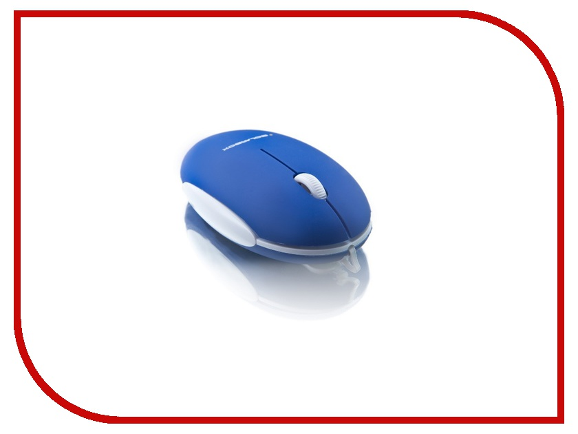 Мышь проводная Solarbox X06 Blue USB<br>