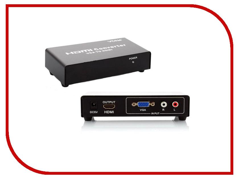 Цифровой конвертер VCOM VGA+Audio to HDMI DD491