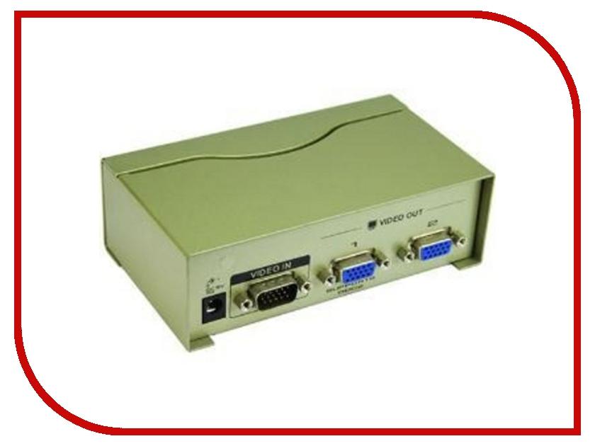 Аксессуар VCOM VGA-Splitter VGA15M-2xVGA15F VDS8015