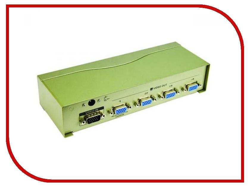 Аксессуар VCOM VGA-Splitter VGA15M-4xVGA15F VDS8016<br>
