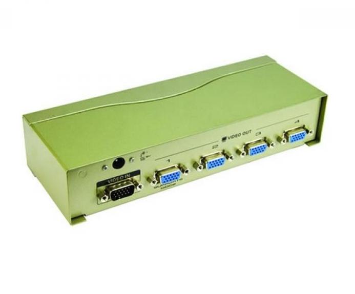 Аксессуар VCOM VGA-Splitter VGA15M-4xVGA15F VDS8016