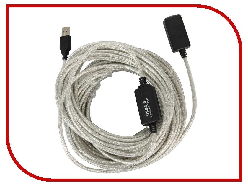 Аксессуар VCOM USB 2.0 AM-AF 20m VUS7049<br>