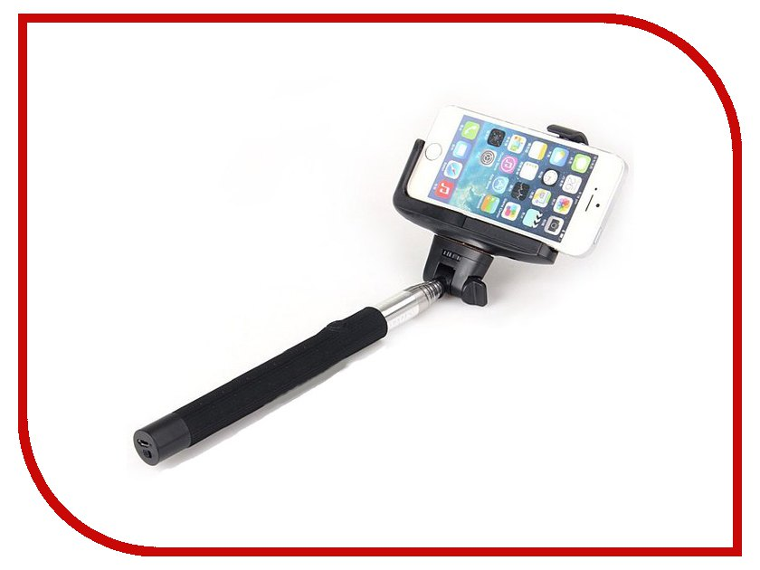 Штатив MONOPOD Z07-5 Bluetooth Black for Selfie наушники philips shq 3300 pk 00 actionfit