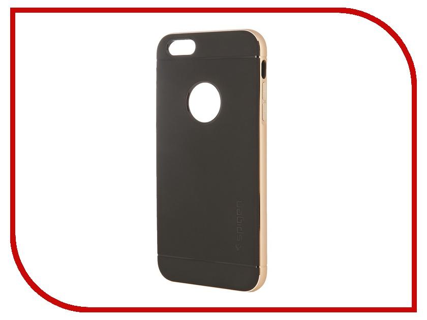 Аксессуар Чехол Spigen Neo Hybrid Metal Series для iPhone 6 Plus 5.5-inch Champagne SGP11071 чехол накладка iphone 6 6s 4 7 lims sgp spigen стиль 10 580085