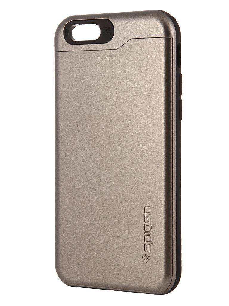 Аксессуар Чехол SGP Slim Armor CS для iPhone 6 4.7-inch Gunmetal SGP10964<br>