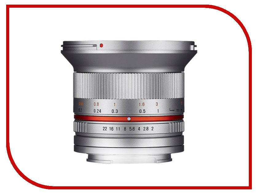 Объектив Samyang FujiFilm X MF 12 mm F/2.0 ED AS NCS CS Silver